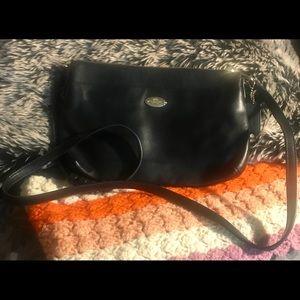 Coach Grained Leather Crossbody Bag
